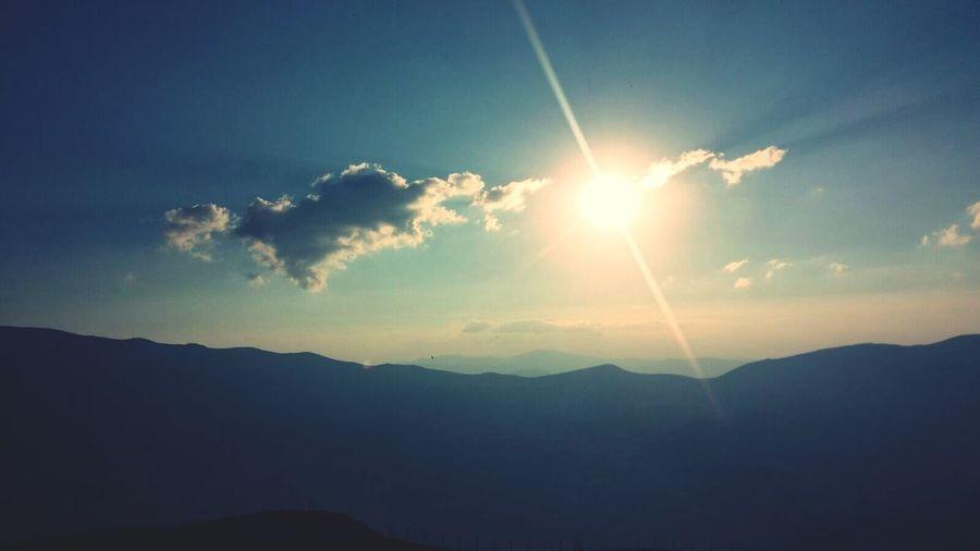 Mountain And Sunrise Beydagı Antalya Turkey