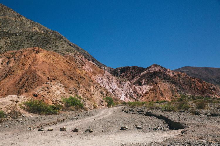 Argentina Contemplation Desert Lansdcape Minerals Rocks Rocks And Minerals Solitude Way
