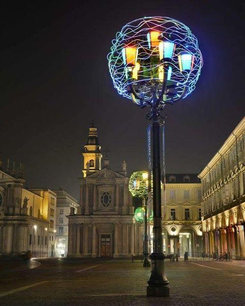 Piazza San Carlo ..Torino...Luci d'artista...Torino❤️mylove Hello World