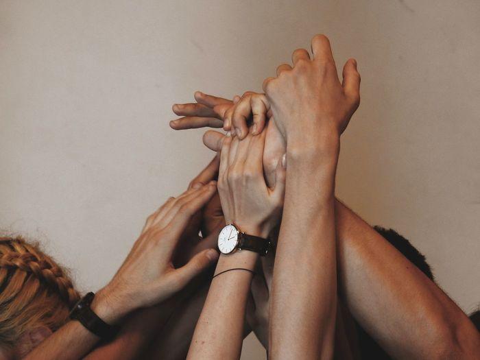 hands. Human