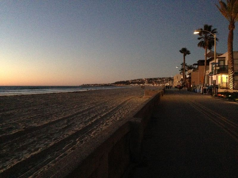 Beach Life San Diego Family❤ Sunset December Mission Beach Boardwalk Ocean Sea