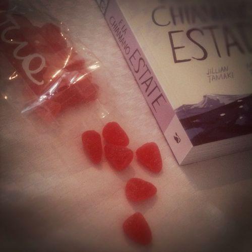 Cose belle: caramelle all'anguria di @melissa_erboristeria e E la chiamano Estate pubblicato da @baopublishing da leggere per @HKiddo