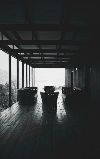 Empty Seats At Porch