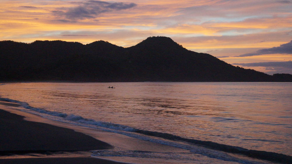 Beach Beauty In Nature Cloud - Sky Costa Rica Day Guanacaste  Guanacaste, Costa Rica Idyllic Mountain Nature No People Outdoors Sand Scenics Sea Silhouette Sky Sunset Tranquil Scene Tranquility Water