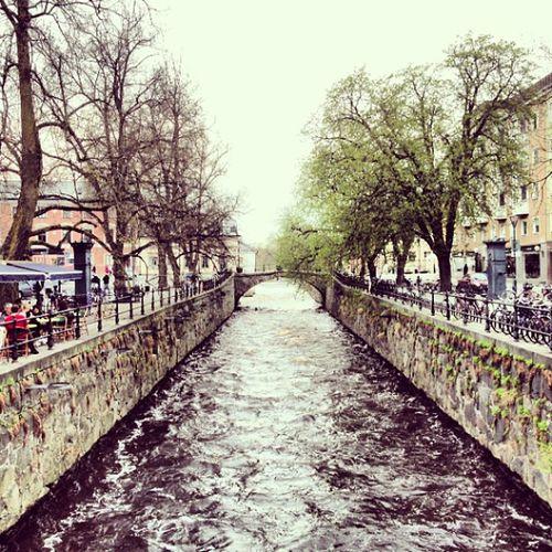 Fyris ån i Uppsala