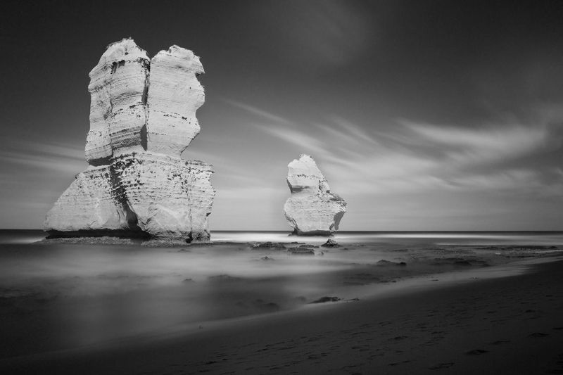 Cliff on sea