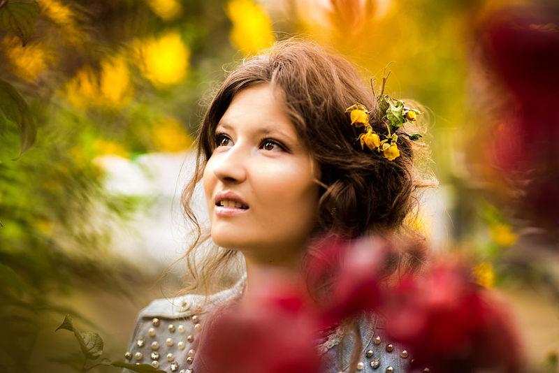Portrait Of A Friend Gerl Autumn Colors EyeEm Best Shots