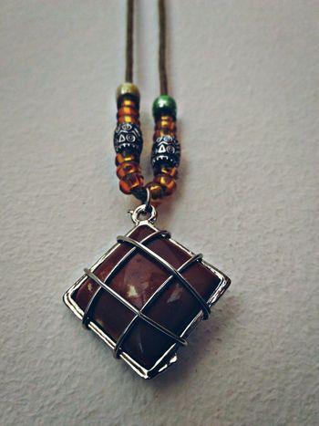 Craft Jewelry Etnic Cool Brown Stone Precious Stone Necklace EyeEm Gallery EyeEm Best Edits