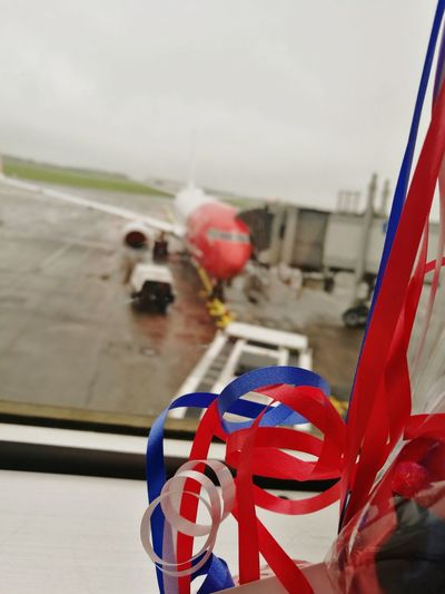 Let's Go. Together. Flag Airport Colour Blue Colour Red Colour White Transportation
