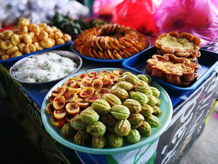 Food Food And Drink Variation Healthy Eating No People Freshness Indoors  Ready-to-eat Day Close-up Kuala Terengganu Malaysia Traditional Food Kuih Melayu Bazarramadhan Eid Mubarak Ramadan Kareem