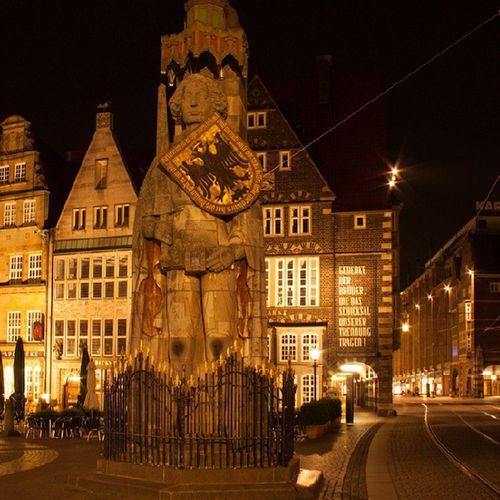 Bremen Roland Night Bremer Roland
