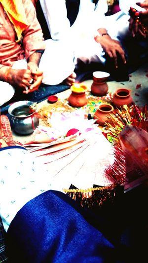 Indian Wedding Scene Wedding Scene Mandap The Groom Groom Hand Adults Only Men Indoors  Human Hand