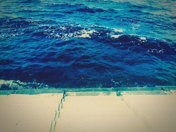 Лестница в море..|Stairs to the sea ..| море😍 Sea🔆 First Eyeem Photo