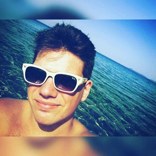 Malo se sunčamo! 😀😁😎 Greece Ierissós Sea Sunbathing New Sunglasses Messyhair