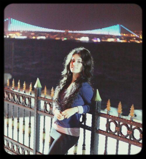 Kabataş Rengarenk Boğaziçi Köprüsü!! Deniz Gececekimi