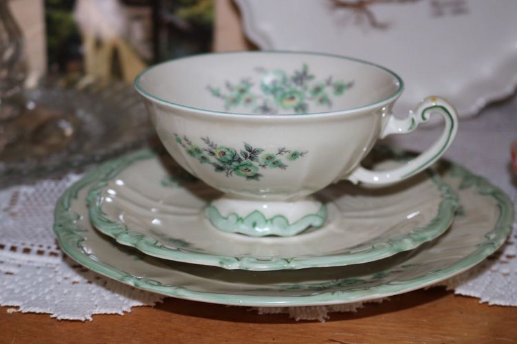 Table Saucer Indoors  Plate Close-up No People Freshness Day Tea Set Tea Cup ☕️ ♡