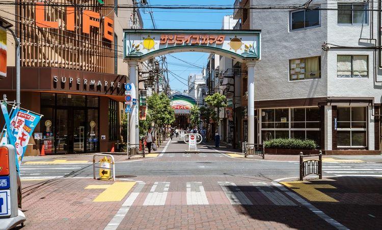 Tokyo, Japan, 2018. 7470 https://instagram.com/p/BnJSAD1FNPc/ EyeEmNewHere Japan Photography Architecture Building Exterior City Built Structure Street City Life Building Road City Street The Way Forward
