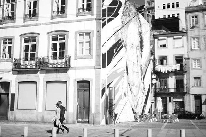 Streetphotography Canvas Porto