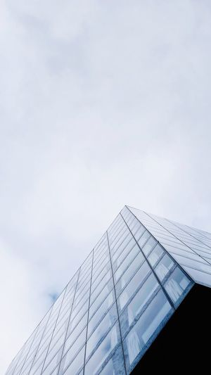 Minimalism Architecture Built Structure Sky Building Exterior Low Angle View Modern Day