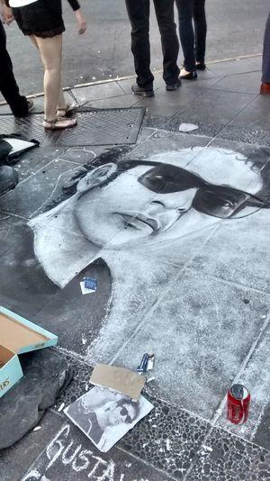 Art Gustavo Cerati City Drawing Music Cocacola Coca Cola