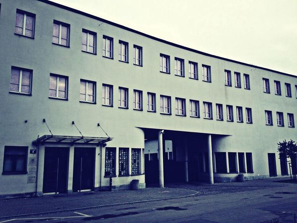 Dr. Schindler's factory in Krakow, everthing is like yesterday. Awesome.