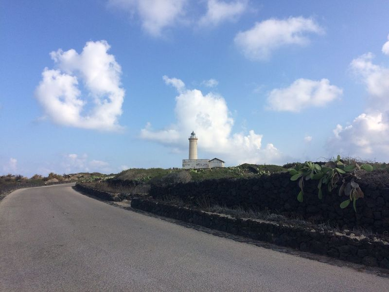 Linosa, Sicilia Colors Linosa Sicily Architecture Beauty In Nature Built Structure Cloud - Sky Day Faro Growth Island Lighthouse Nature No People Nofilter Outdoors Plant Road Scenics Sky Summer