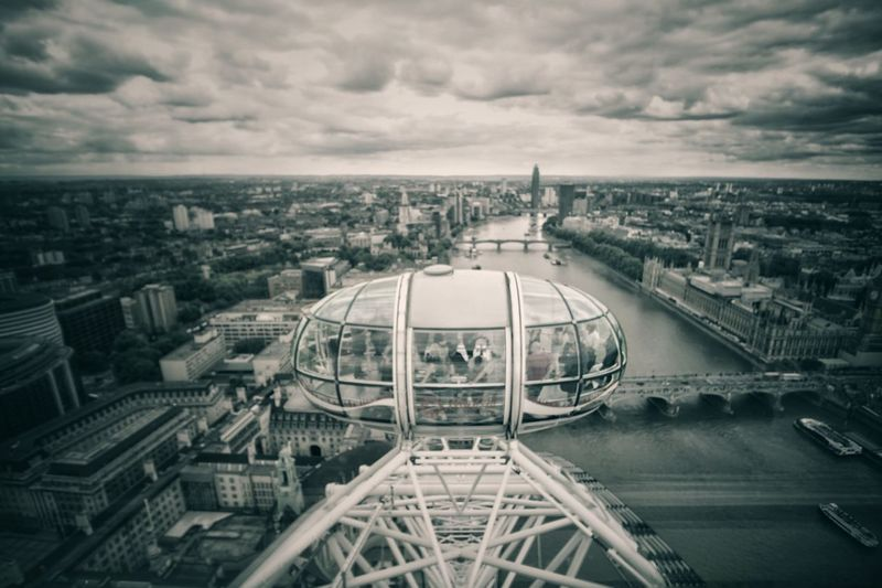 Your Ticket To Europe Architecture Sky Cityscape City Built Structure Cloud - Sky Building Exterior No People Outdoors Day Skyscraper London Lifestyle London Eye LONDON❤ Your Ticket To Europe