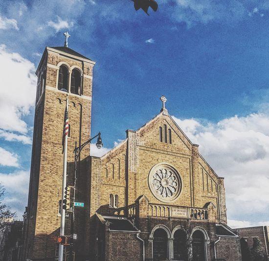 St Patrick church Religion Spirituality Architecture Built Structure Outdoors EyeEmNewHere Randomshot Building Brooklyn Bay Ridge,