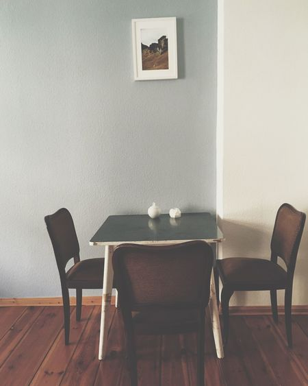 Home Is Where The Art Is Interior Kitchen Table My Kitchen Old And New Vintage Vintage Furniture Vintage Living