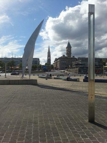 Steeples Sculpture Nofilter @ Dun Laoghaire Harbour Plaza