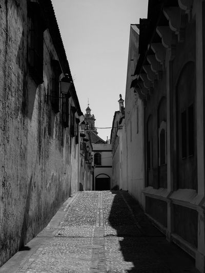 Alley Architecture Architecture Blackandwhite Building Building Exterior Built Structure Day Diminishing Perspective Empty Fujifilm Fujifilm X30 Fujifilm_xseries Long Narrow No People Outdoors Pathway Sanlúcar De Barrameda Sky SPAIN The Way Forward Town Vanishing Point Walkway