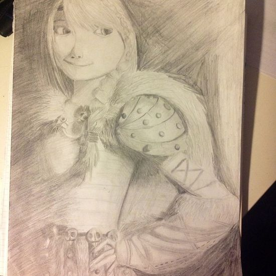 My Picture Httyd2 Astrid draw