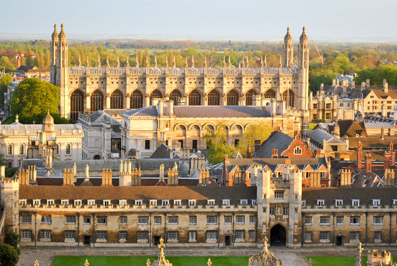 Aerial view of several college buildings in Cambridge (UK) Aerial Aerial View Architecture Buildings Cambridge Cambridgeshire Chapel Church City Cityscape College England Golden Hour Great Britain King's College Landmarks Monument Panoramic Sunrise Sunset Top Top View Uk United Kingdom Urban