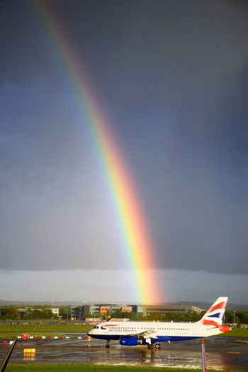 In The Terminal Waiting London Gatwickairport Coming Back Home Turnaround At London Gatwick ✈️😊💕 Rainbow Colors Departures