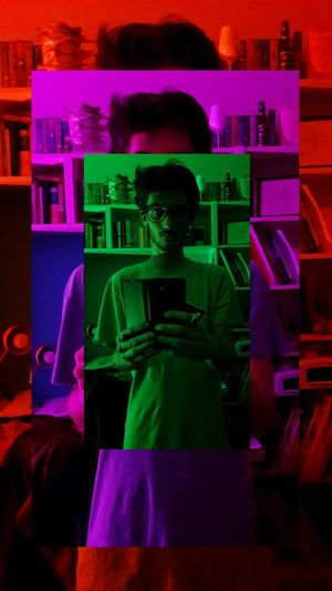 Colors Pshycodelic Effect light and reflection