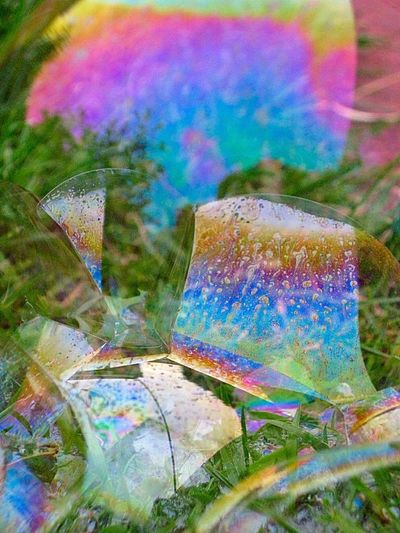 Bubbles Hello World Spiritual Awakening Playing With The Light My Own Photography Macro Photography Macro Week Oil Rainbow