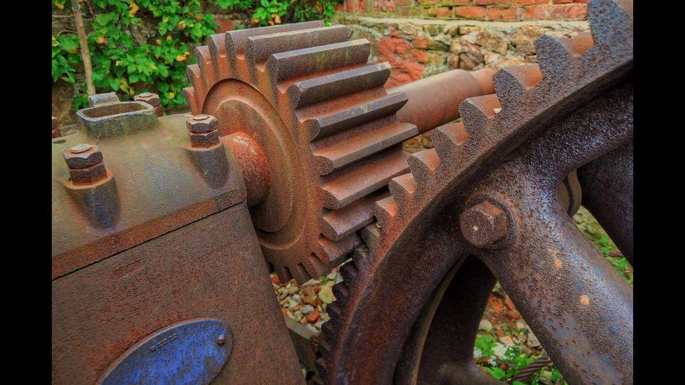 Machine Machinery Abandoned Places Abandoned