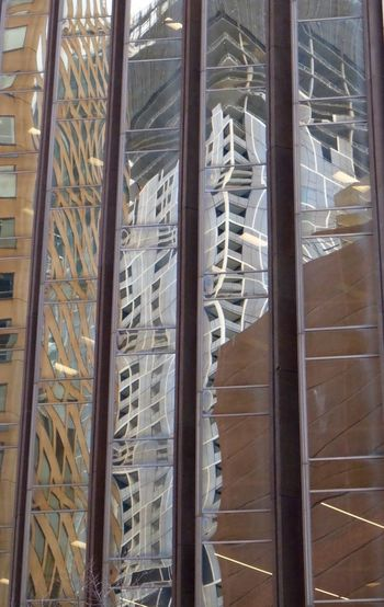 Reflets Reflection Building Structure Urban Geometry Architecture Towers