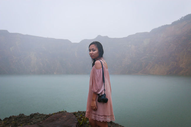 Adventure Alone ASIA Beauty In Nature Borneo Exploration Explore Forest Girl Isolated Jungle Lake Landmines Landscape Malaysia Mountain Mountain Range Natgeotravel Nature Nature_collection Portrait Tranquil Scene Tranquility