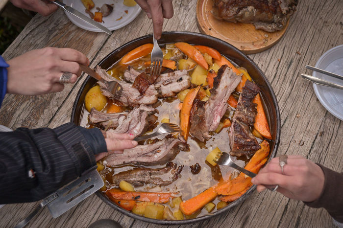 Boars Ribs Eat Eating Outdoors Food Food And Drink Foodporn Freshness Game Hands Holding Indoors  Part Of Person Potato Potatoes And Ribs Ribs The Photojournalist - 2016 EyeEm Awards The Great Outdoors - 2016 EyeEm Awards Wild Wild Boar Wild Boars Meat Wildlife Wildlife & Nature Wildlife Photography