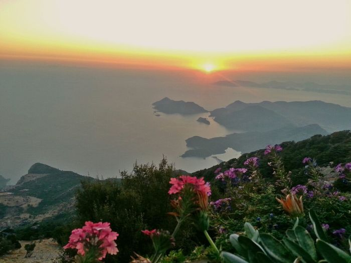Fethiye Mountain Babadag Sunset Vscoturkey Hello World Escaping Vacation Time Turkey That's Me