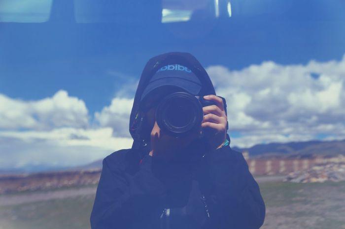 Self Portrait Around The World