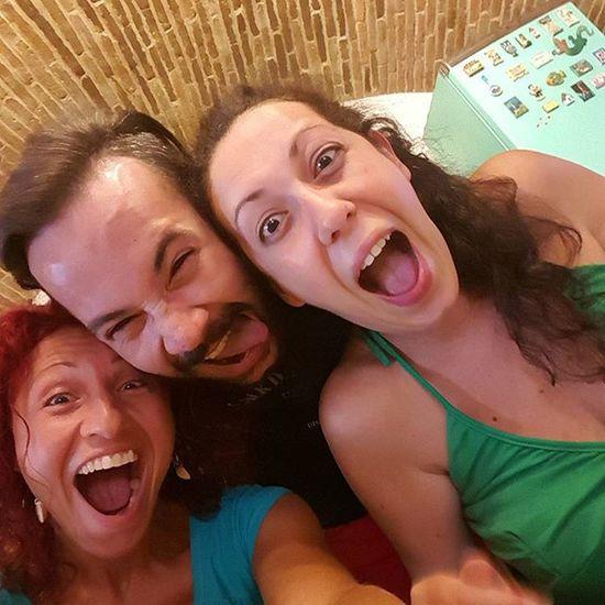 Cugini 😊 cousins!!! 😁😁😁😁 Cousins  Cugini 15thofaugust Ferragosto2015 Biglunch Lunchwithfamily Funny Funnyselfie Summer2015 Estate2015 Italy Puglia