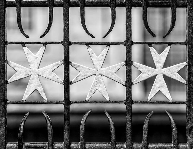 Knights Of Malta Malta Cross Maltese Cross Backgrounds Close-up Day Focus On Foreground Full Frame Indoors  No People Pattern Shape