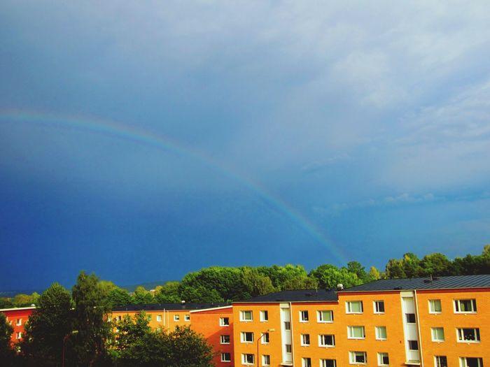 Rainbow City Zufall Schnapschuss
