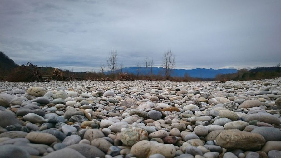 Stones Fiume Piave Piave River