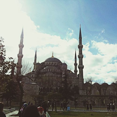 Travelingng Blue Mosque Islam Religion