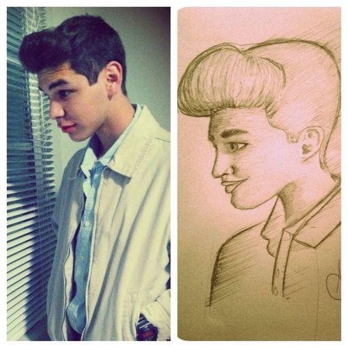The bro drew me