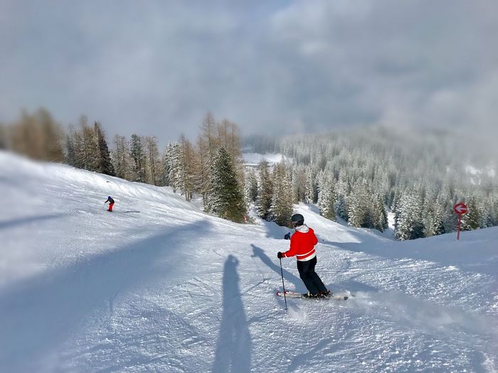 Skiing Clouds