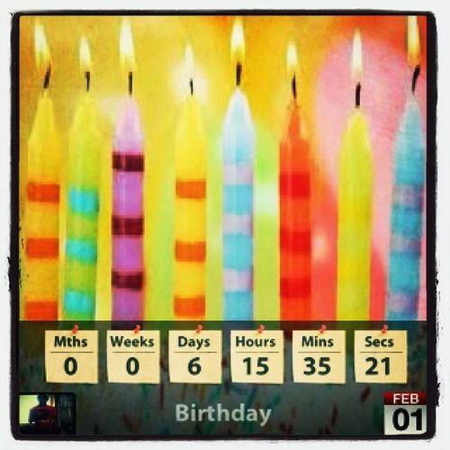 My Birthday Countdown
